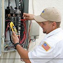 residential electrician downey